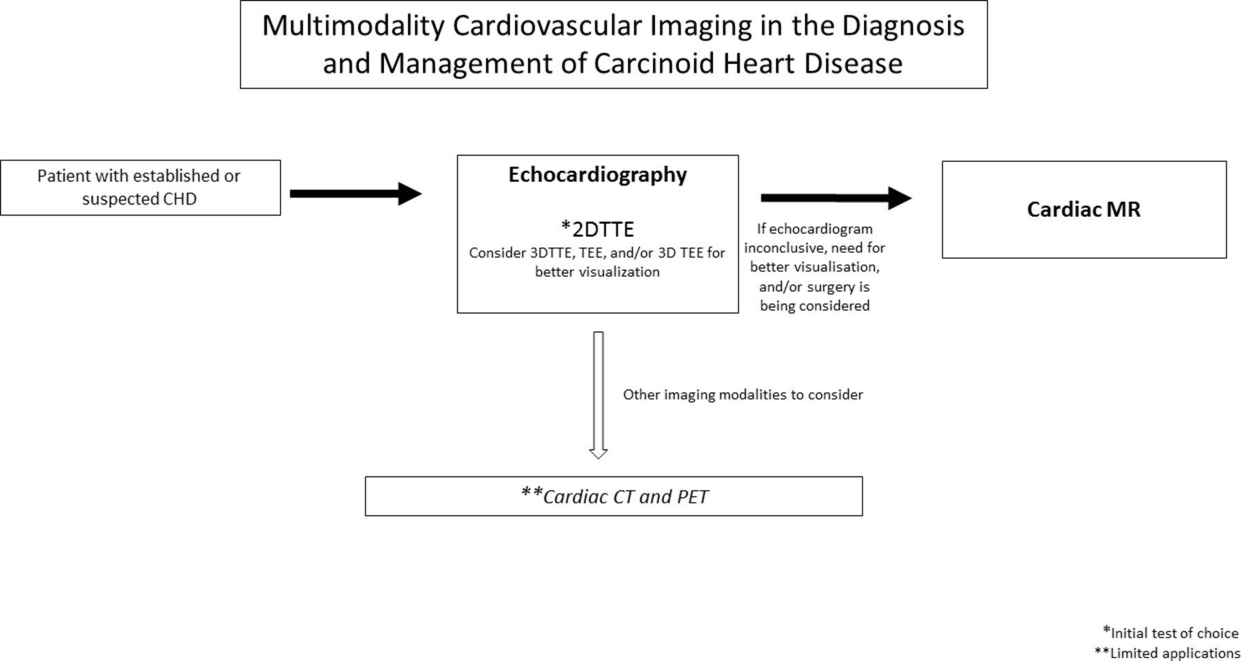 Multimodality imaging in carcinoid heart disease | Open Heart